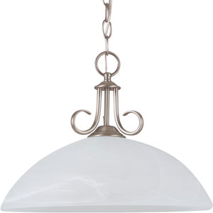 Lemont Antique Brushed Nickel  One-Light Pendant