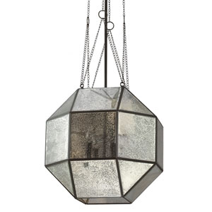Lazlo Heirloom Bronze Four Light Pendant with Mercury Glass