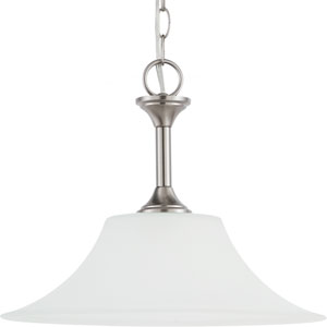 Holman Brushed Nickel  One-Light Pendant