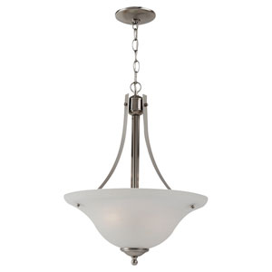 Windgate Two-Light Brushed Nickel Pendant