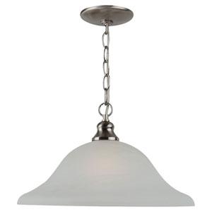 Windgate One-Light Brushed Nickel Pendant