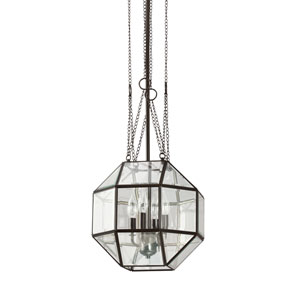 Lazlo Heirloom Bronze 12-Inch Energy Star Four-Light Pendant