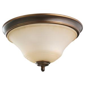 Parkview Russet Bronze Flush Mount Ceiling Light