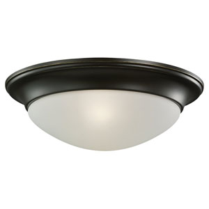 Nash Heirloom Bronze Flush Mount