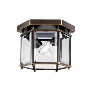 Bretton Heirloom Bronze 8-Inch Energy Star Two-Light Flush Mount
