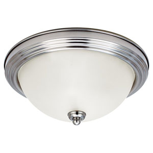 Stockholm Brushed Nickel Flush Mount Ceiling Light