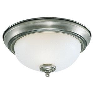 Sussex Brushed Nickel Flush Mount Ceiling Light