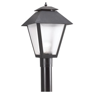 Black Outdoor Post Lantern