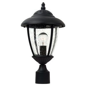 Lambert Hill Black Outdoor Post Lantern