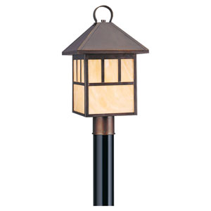 Prairie Statement One-Light Outdoor Post Mount