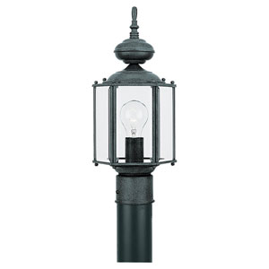Classico Black Outdoor Post Lantern