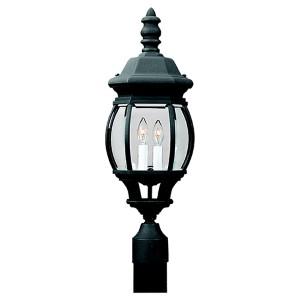 Wynfield Black Two-Light Outdoor Post Lantern