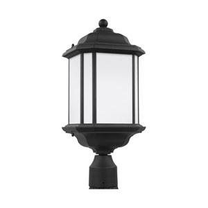 Kent Black 8.5-Inch One-Light Outdoor Post Mount