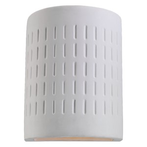 Unfinished Ceramic One-Light Outdoor Wall Lantern