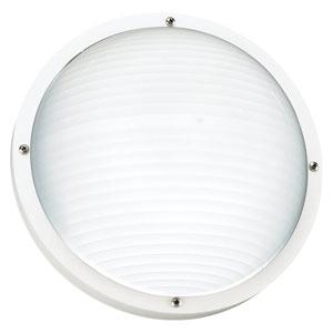 Bayside White Outdoor Wall Lantern