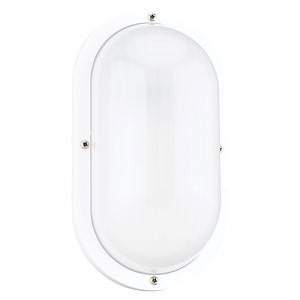 Bayside White One-LightOutdoor Wall Lantern