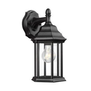 Sevier Black 6.5-Inch One-Light Outdoor Wall Lantern