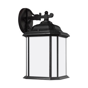 Kent Oxford Bronze 8.5-Inch One-Light Outdoor Wall Sconce