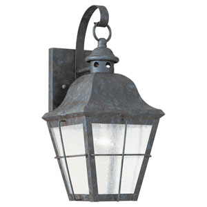 Colonial Bronze One-Light Outdoor Wall Mount