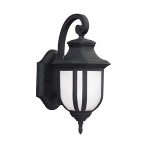 Childress Black 5.5-Inch Outdoor LED Wall Sconce