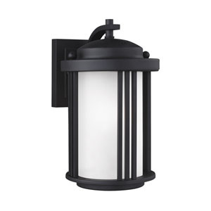 Crowell Black 6-Inch One-Light Outdoor Wall Sconce