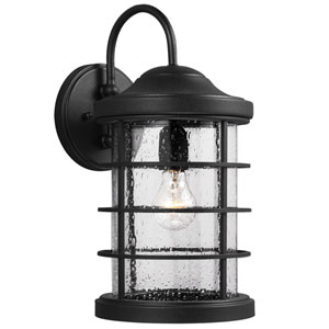 Sauganash Black One Light Outdoor Wall Lantern