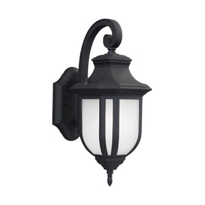 Childress Black 6.5-Inch One-Light Outdoor LED Wall Sconce