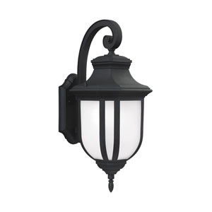 Childress Black One-Light Outdoor Wall Sconce