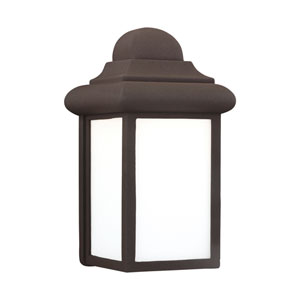 Mullberry Hill Bronze 6-Inch One-Light Outdoor Wall Lantern