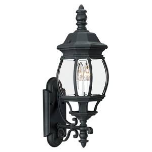 Wynfield Black Two-Light Outdoor Wall Lantern
