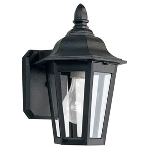Classic Cast Aluminum Small Outdoor Wall-Mounted Lantern