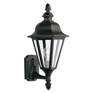 Classic Cast Outdoor Black Up Wall Mount
