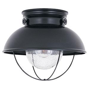 Sebring Black Outdoor Ceiling Light