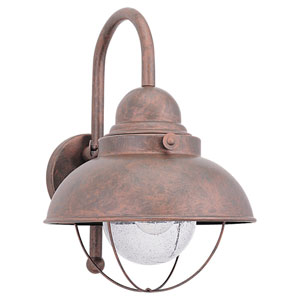 Sebring Outdoor Weathered Copper Wall Mount