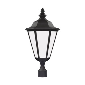 Brentwood Black 13-Inch One-Light Outdoor Post Lantern