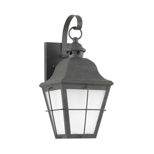 Chatham Oxidized Bronze 7-Inch One-Light Outdoor Wall Lantern