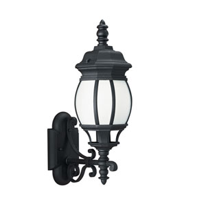 Wynfield Black 6-Inch One-Light Outdoor Wall Lantern