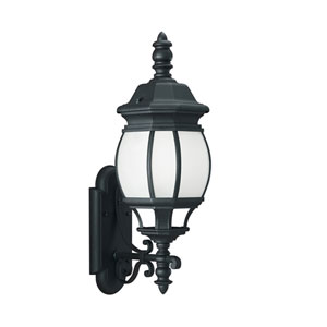 Wynfield Black 8-Inch One-Light Outdoor Wall Lantern
