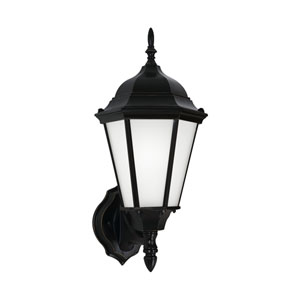 Bakersville Black 8-Inch One-Light Outdoor Wall Lantern