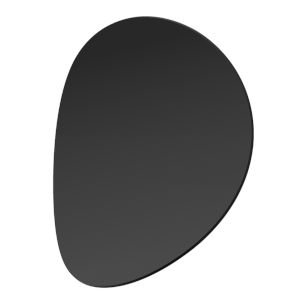 Malibu Discs Satin Black 14-Inch Two-Light LED Sconce