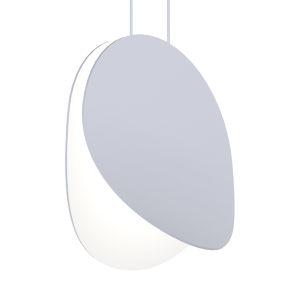 Malibu Discs Dove Gray 10-Inch LED Pendant