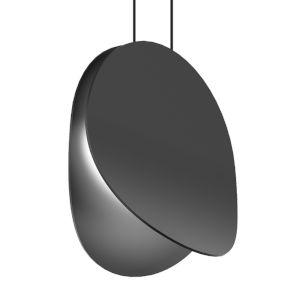 Malibu Discs Satin Black 10-Inch LED Pendant