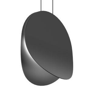 Malibu Discs Satin Black 14-Inch LED Pendant