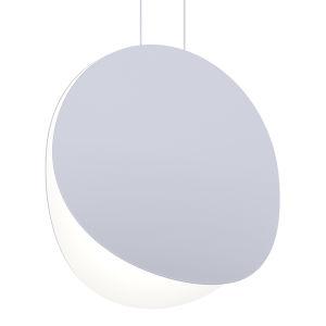 Malibu Discs Dove Gray 18-Inch LED Pendant