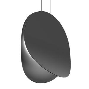 Malibu Discs Satin Black 18-Inch LED Pendant