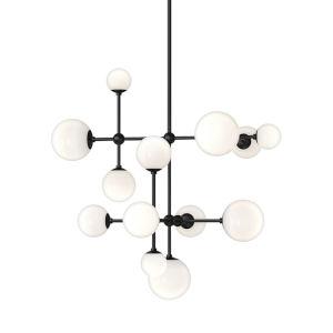 Sabon Satin Black LED Pendant