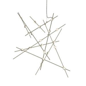 Constellation Satin Nickel LED Pendant