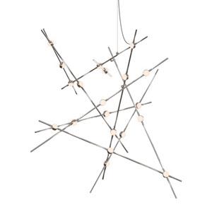 Constellation Satin Nickel LED 50-Inch Pendant