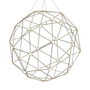 Constellation Satin Nickel 40-Light LED Pendant