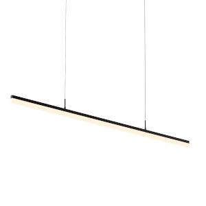 Stiletto Satin Black 60-Inch LED Pendant